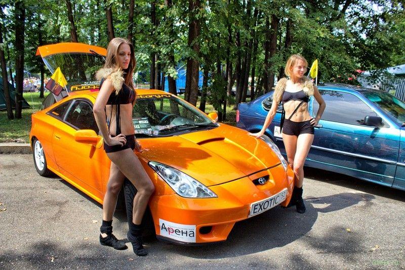 Девушки Автоэкзотики 2013