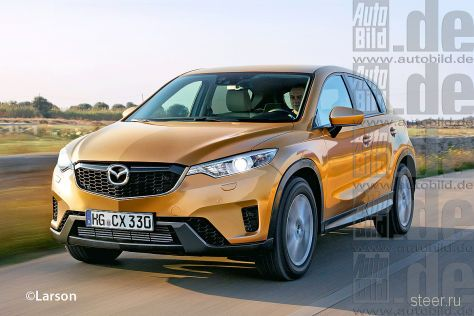 Mazda CX-3: конкурент Opel Mokka и Nissan Juke