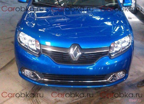 Новый Renault Logan: первые фото российской версии
