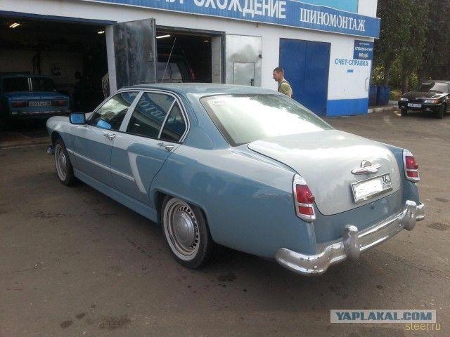 Гибрид Волги и BMW