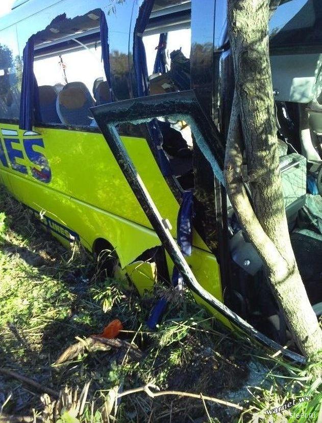 Смертельное столкновение автобусов под Псковом