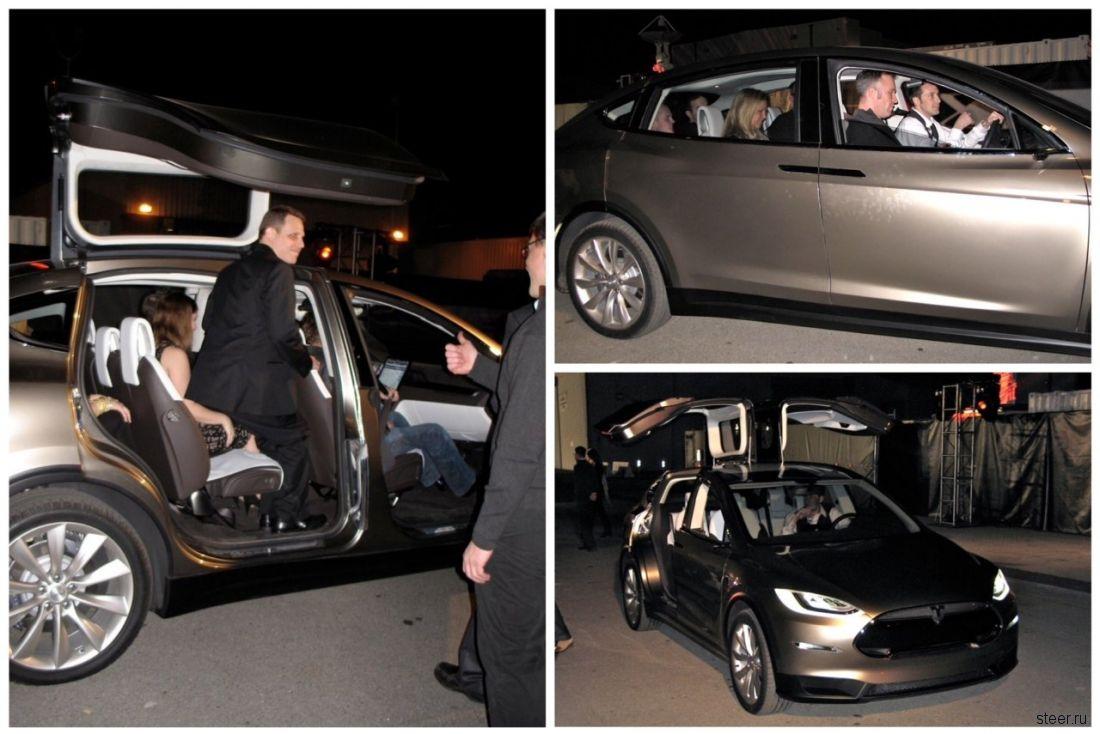Кроссовер Tesla Model X обещают в январе 2014