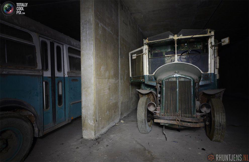 Заброшенный тоннель в Бельгии