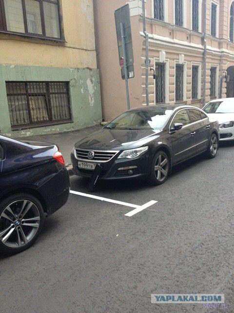 И снова о платных парковках