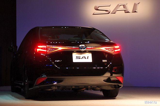 Toyota представила обновлённый гибридный седан Sai. Почти новое поколение