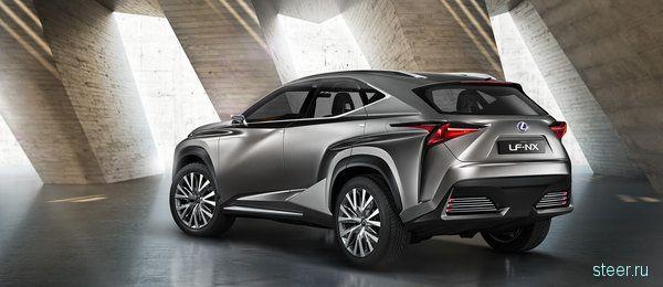 Новый кроссовер Lexus: первые фото