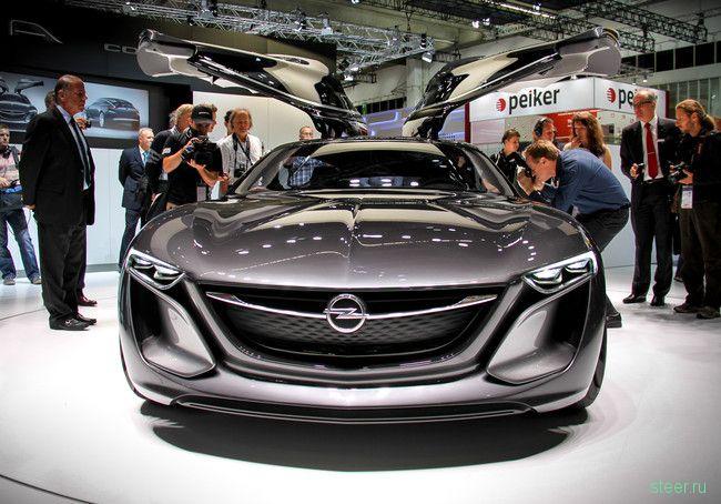 Opel Monza - настоящее немецкое изящество