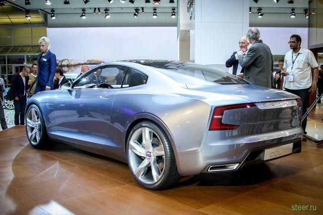 Volvo: резкое изменение дизайна моделей