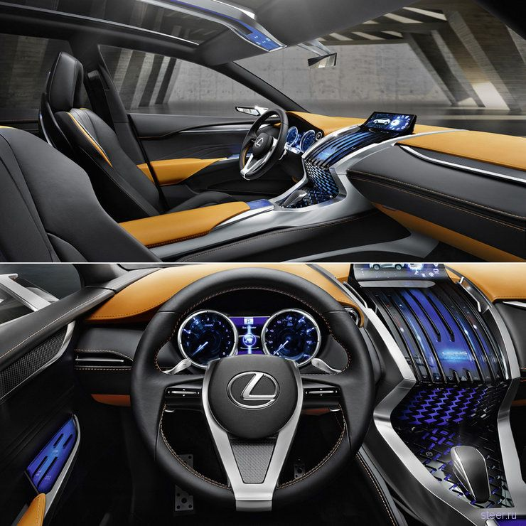 Lexus LF-NX - такого дизайна никто не ожидал