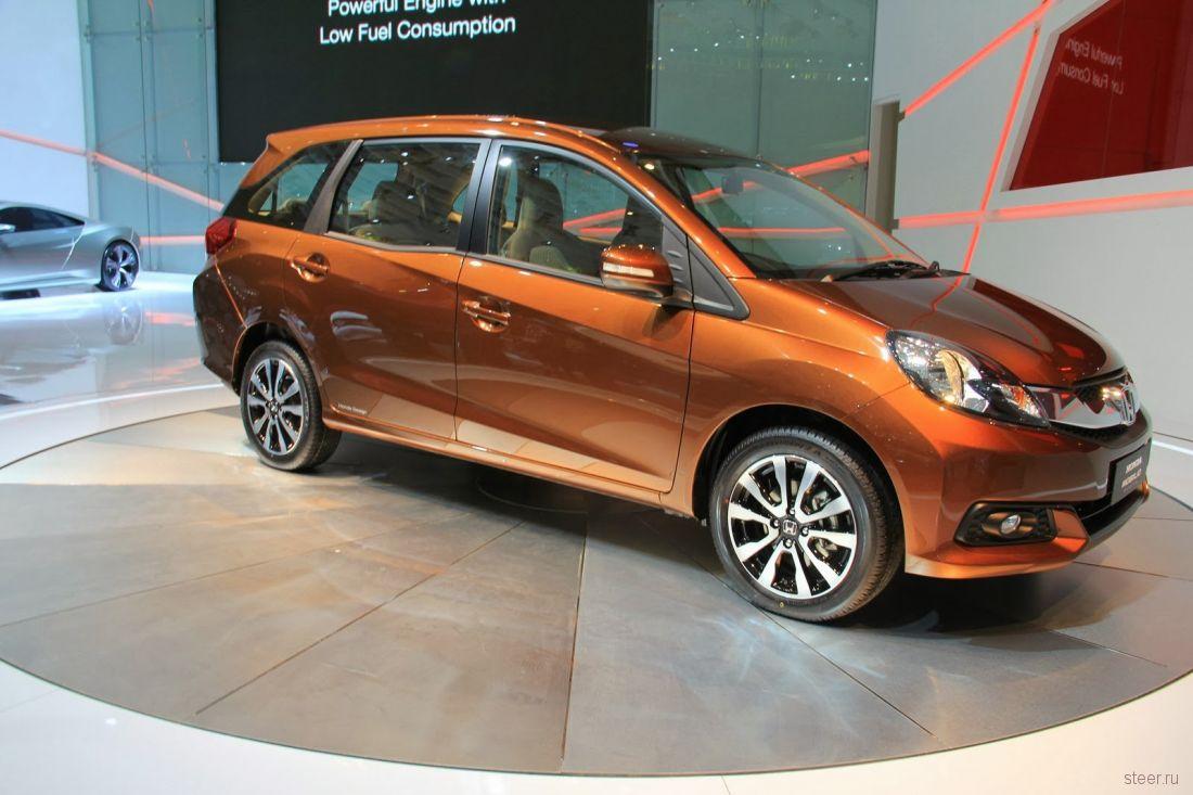 Honda представила новый бюджетный компактвэн Mobilio