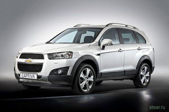 Известны рублевые цены на новую Chevrolet Captiva