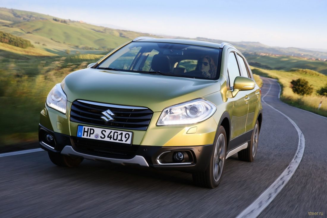 В декабре в Россию привезут новый Suzuki SX4