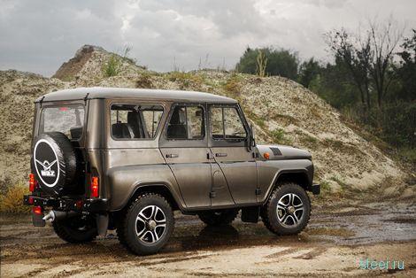 «УАЗ» подготовил «трофи-версию» для четырех моделей