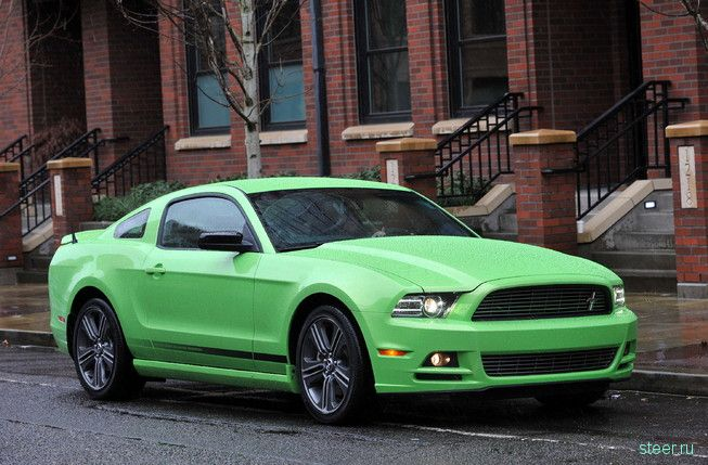 Ford Mustang 2014 попал в объективы камер