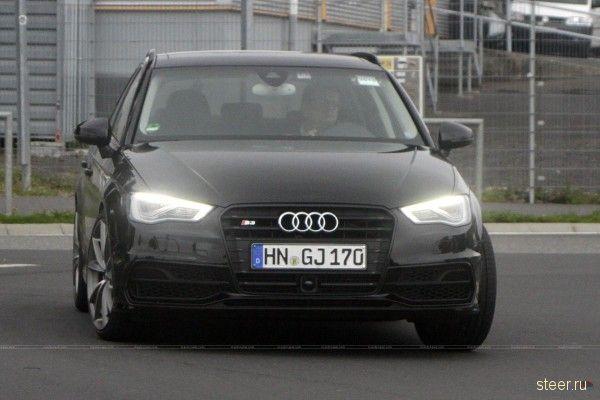 Следующее поколение Audi RS3 тестируют в Германии