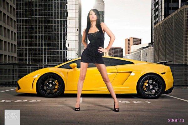 Сексуальные девушки и автомобили от тюнеров Jotech Motorports