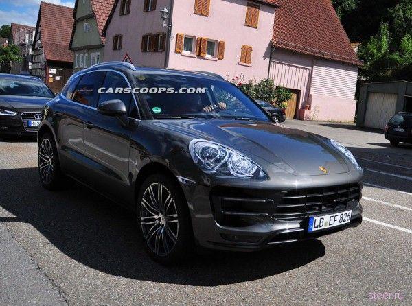 Серийный Porsche Macan: раскрыты новые подробности