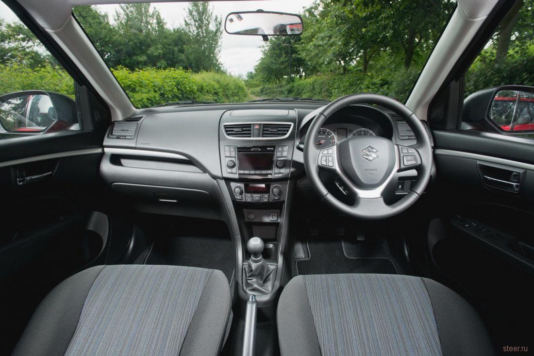 Новая версия Suzuki Swift приехала в российские салоны