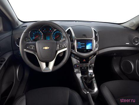 В интернете рассекретили интерьер нового Chevrolet Cruze
