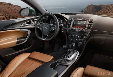 Opel назвал рублевые цены на обновленную «Инсигнию»