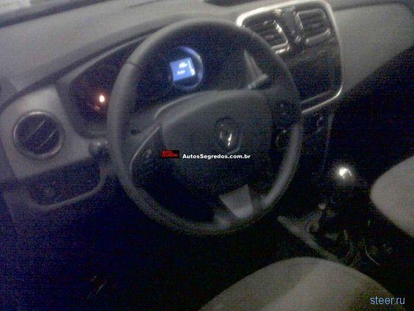 Фотографии нового Renault Logan попали в интернет