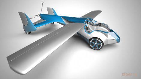 Бывший автодизайнер построил летающий автомобиль