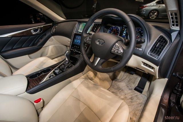 Nissan представил в Японии новое поколение седана Nissan Skyline