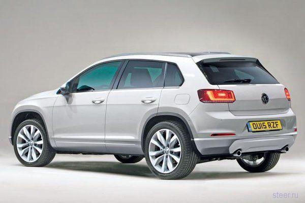 Новый Volkswagen Tiguan: первые фото
