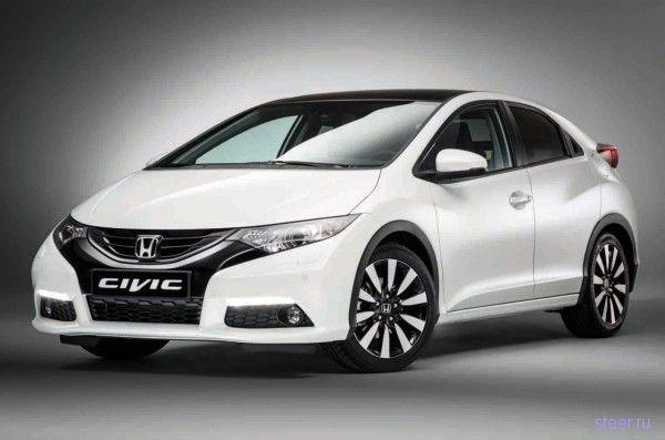 Официально представлена европейская версия хетчбека 2014 Honda Civic