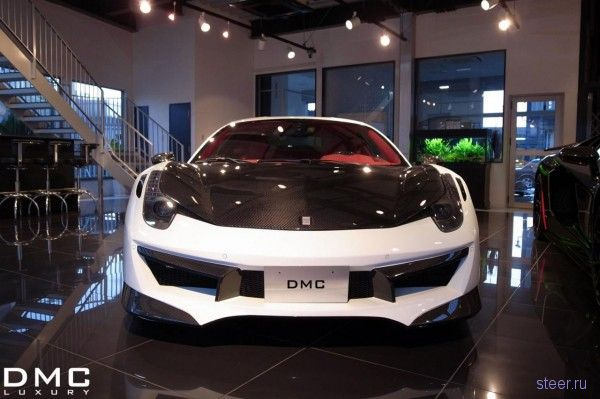 Эксклюзивная версия Ferrari 458 Italia Estremo Edizione