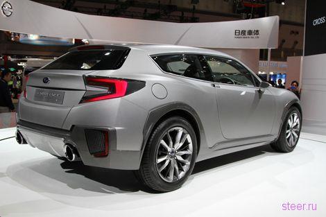 В Subaru построили вседорожник в стиле купе BRZ