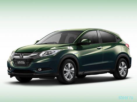 В модельном ряду Honda появился конкурент Nissan Juke