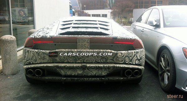 Новая модель Lamborghini: первые фото