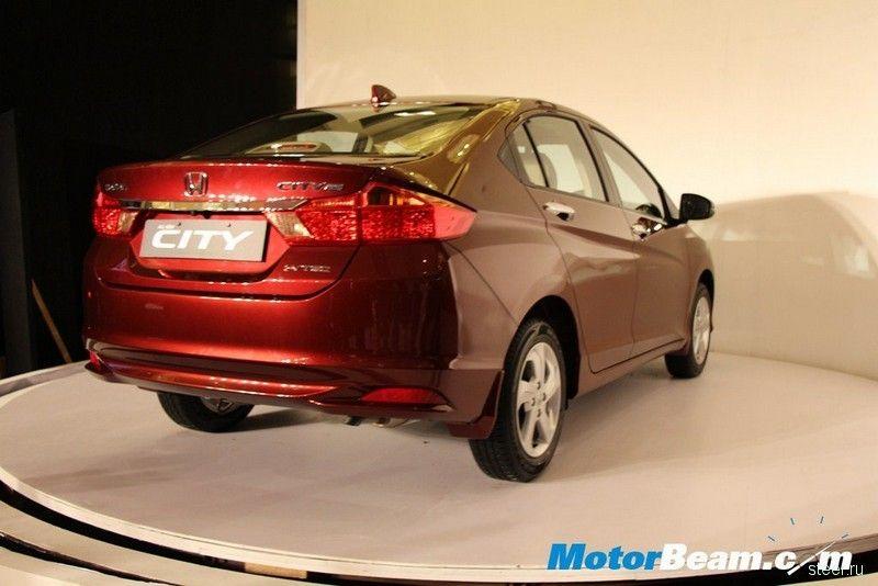 Honda представила в Индии новое поколение компактного седана City