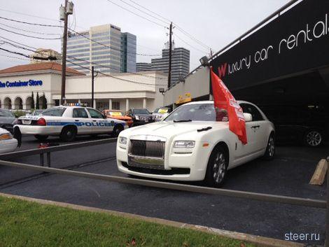 В США голый мужчина расстрелял машины на 200 тысяч долларов