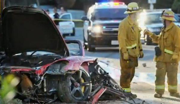 Звезда киносерии «Форсаж» разбился в автокатастрофе