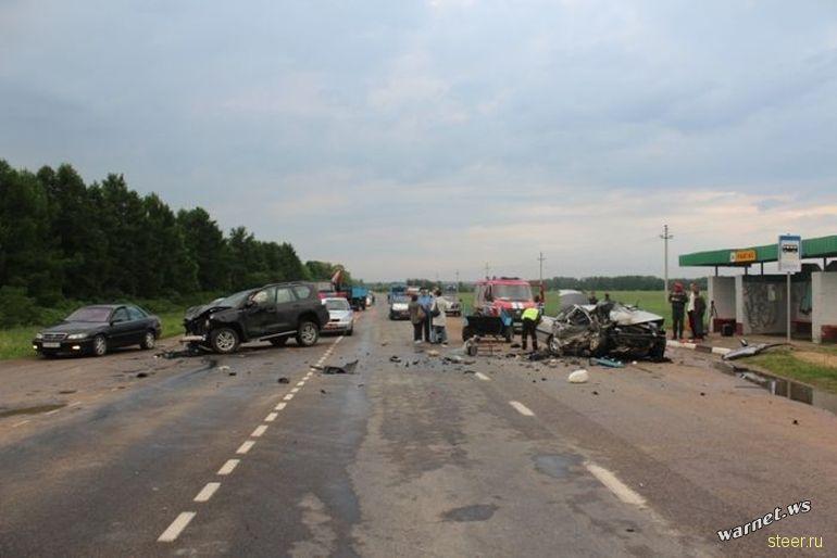 Жуткая авария по вине пьяной женщины за рулем в Гродно