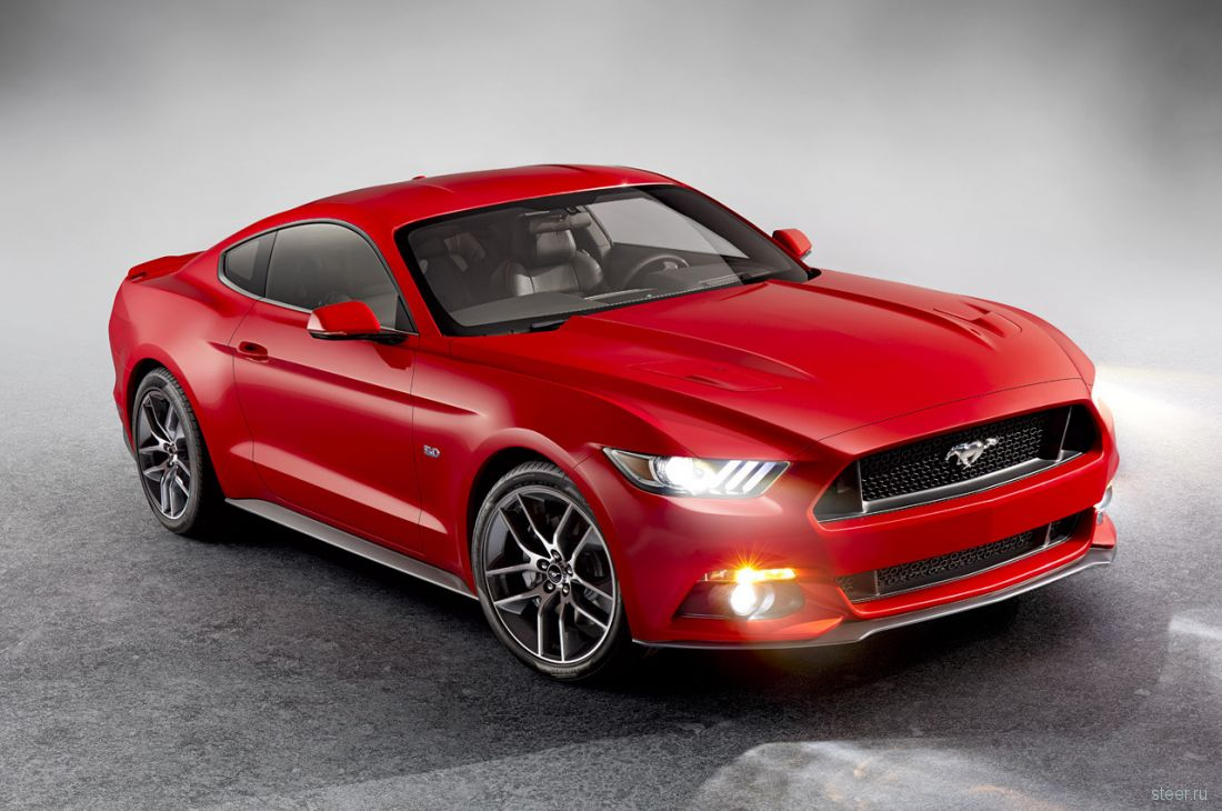 Ford представил новый Mustang