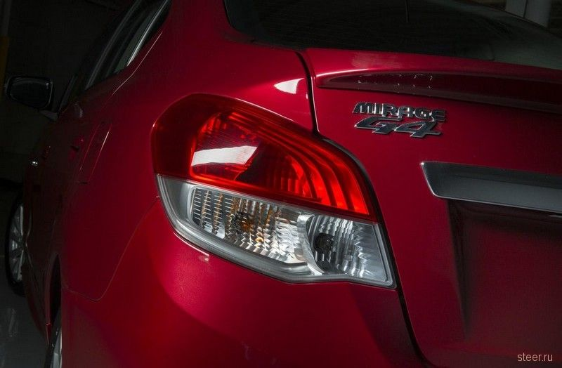 Mitsubishi предложит канадцам бюджетный седан Mirage G4