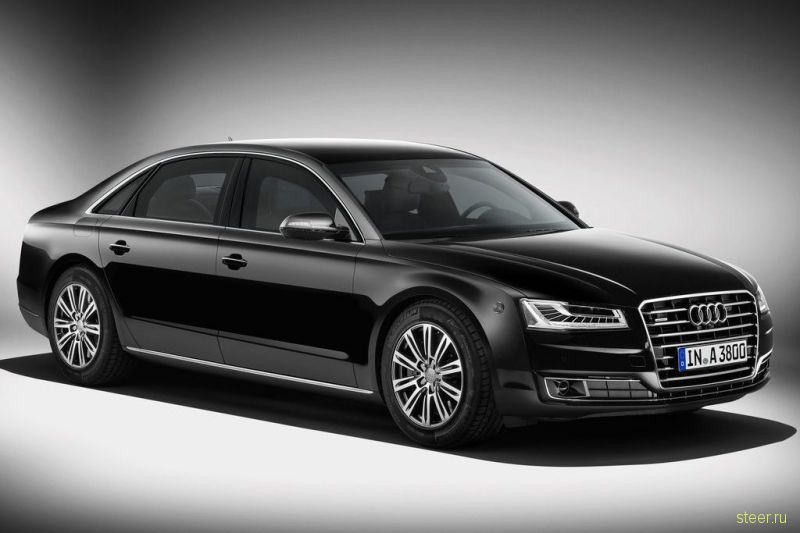 Audi выпустила бронированный лимузин A8 L Security