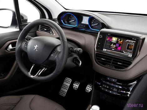 Стали известны рублевые цены на кроссовер Peugeot 2008