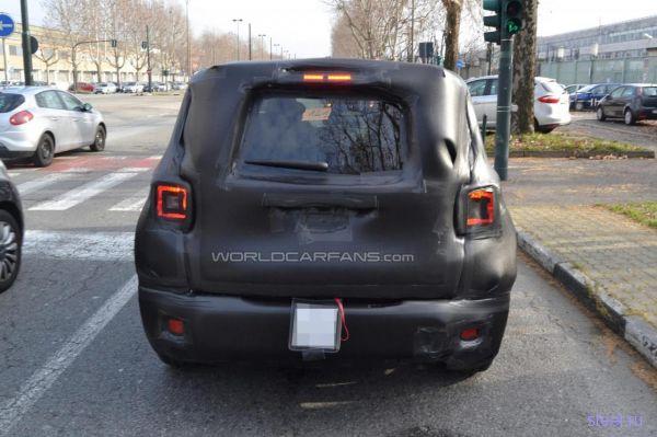 Jeep Junior в очередной раз попался фотошпионам