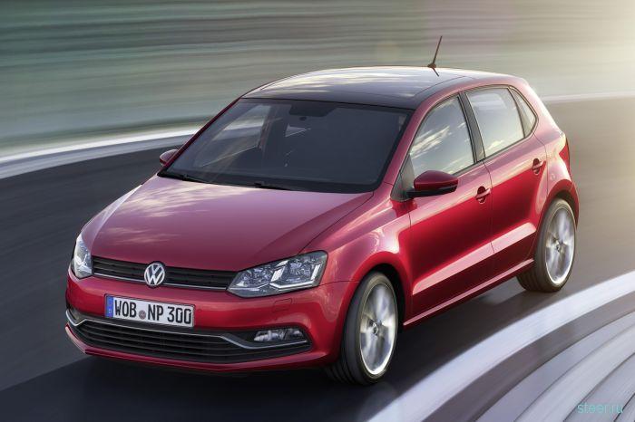 Volkswagen показал обновленный Polo