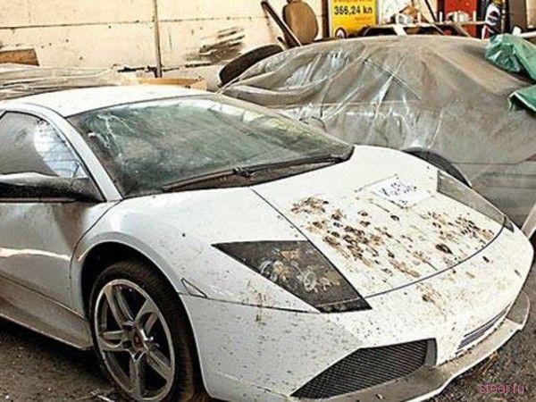 Десятки роскошных автомобилей гниют в Хорватии
