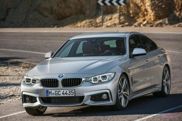 2014 BMW 4-Series Gran Coupe: Официальные фотографии