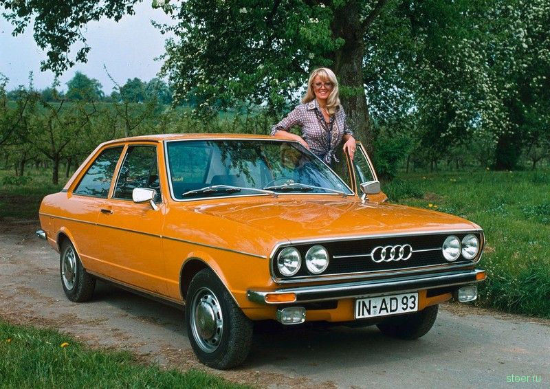 Ретро: авто и девушки