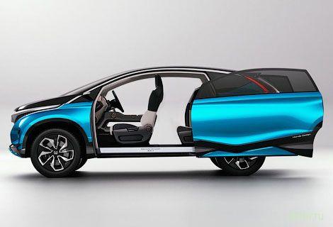 Хонда построила семиместную двухдверку