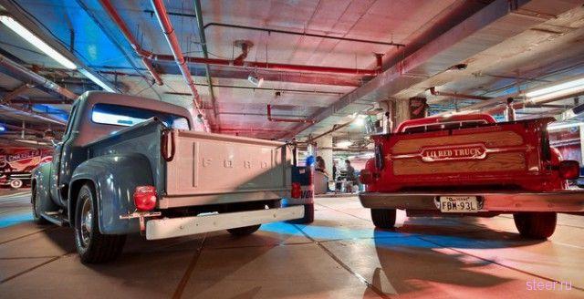 В Питере открылась выставка легендарных Muscle-Cars