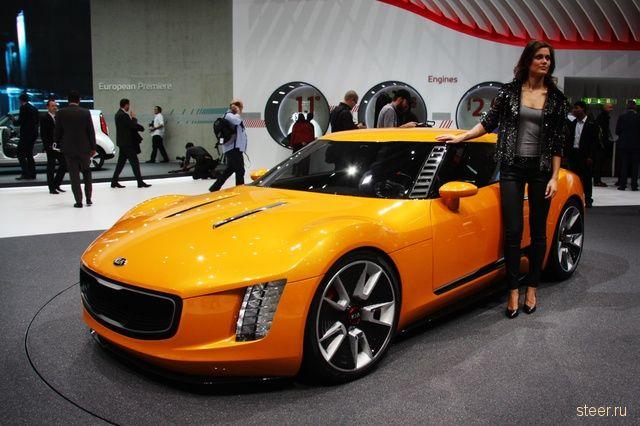 Kia привезла в Женеву самый агрессивный концепт