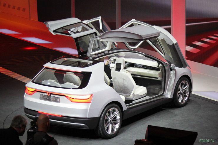 Volkswagen Giugiaro Clipper : самый странный автомобиль Женевы